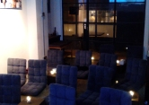 movie night setting