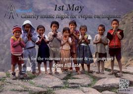 charity music night for nepal