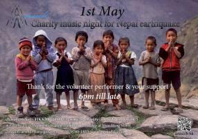 charity music night for nepal